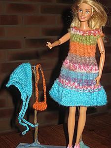 barbie-en-robe-jacquard