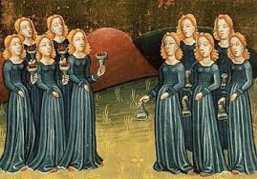 """La parabole des """"dix vierges"""""""