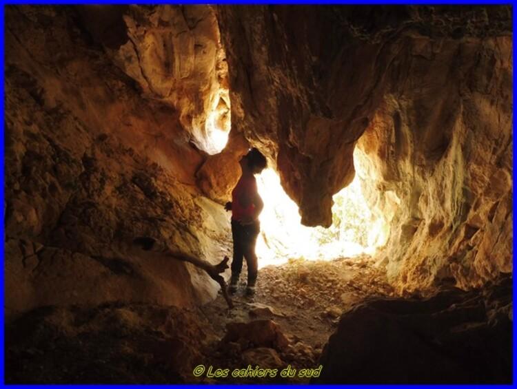Les grottes Saint Martin du Destel