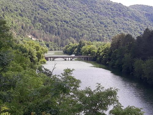 Le Pont sur la Bienne toujours vers Chancia