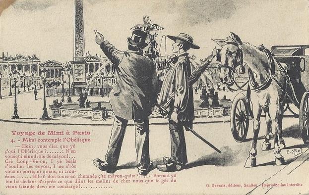 Voyage de Mimi à Paris ( G.Gervais, éditeur à Saulieu)
