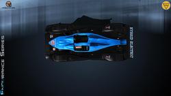 Team Corsa Motorsport Ginetta Zytek 09S 09ALMS