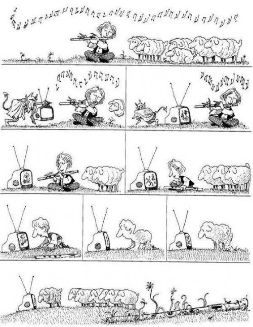 1 mouton, 2 moutons, 3 moutons, etc...