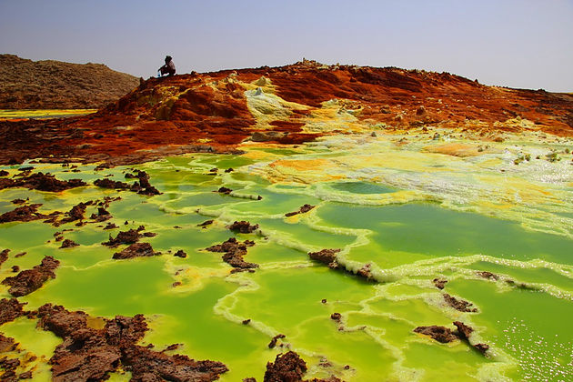"""Résultat de recherche d'images pour """"Le volcan Dallol dans le désert Danakil en Ethiopie image"""""""
