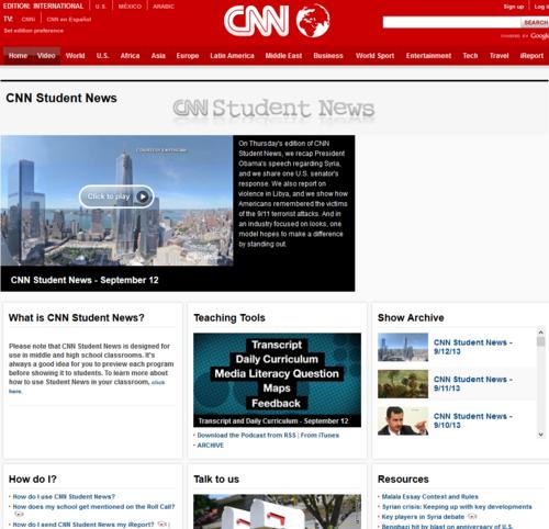 Student News (CNN)