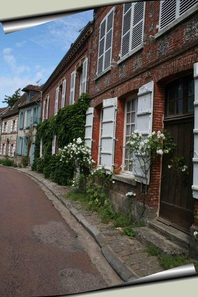 Gerberoy. Un village d'autrefois.