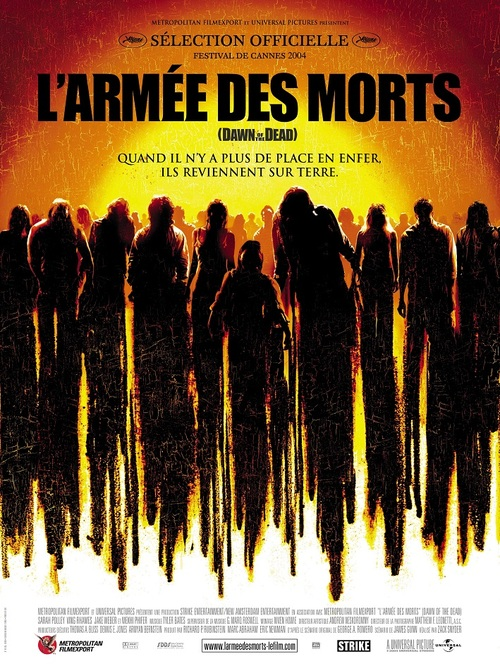L'ARMEE DES MORTS BOX OFFICE FRANCE 2004