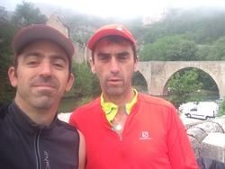Lozère trail 20 mai 2018 J-Marc et Michel