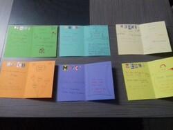 Cartes de gratitude/cartes de voeux