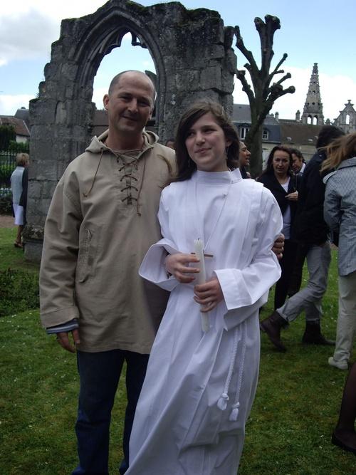 Après la messe...il faisait bien froid !