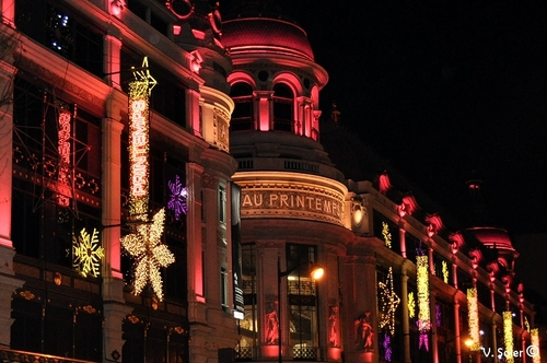 Illuminations de Noël à Paris パリのクリスマス