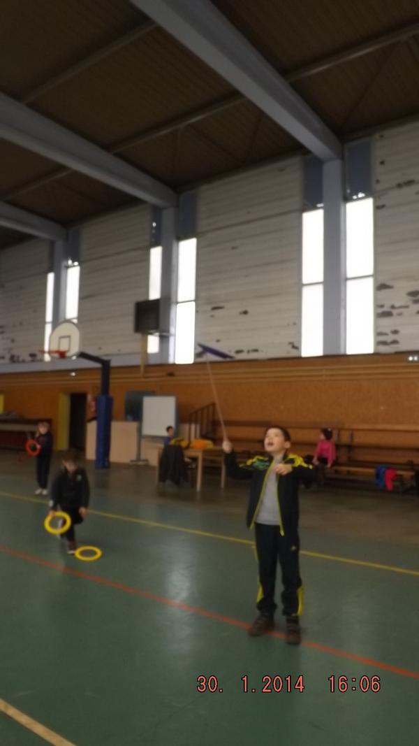 une séance de sport