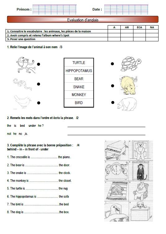 Anglais vocabulaire de noel en anglais ateliers pour for Anglais vocabulaire maison