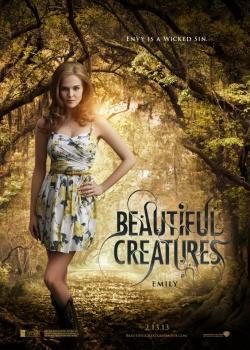 Sublimes Créatures - 16 lunes : affiche personnage : Emily