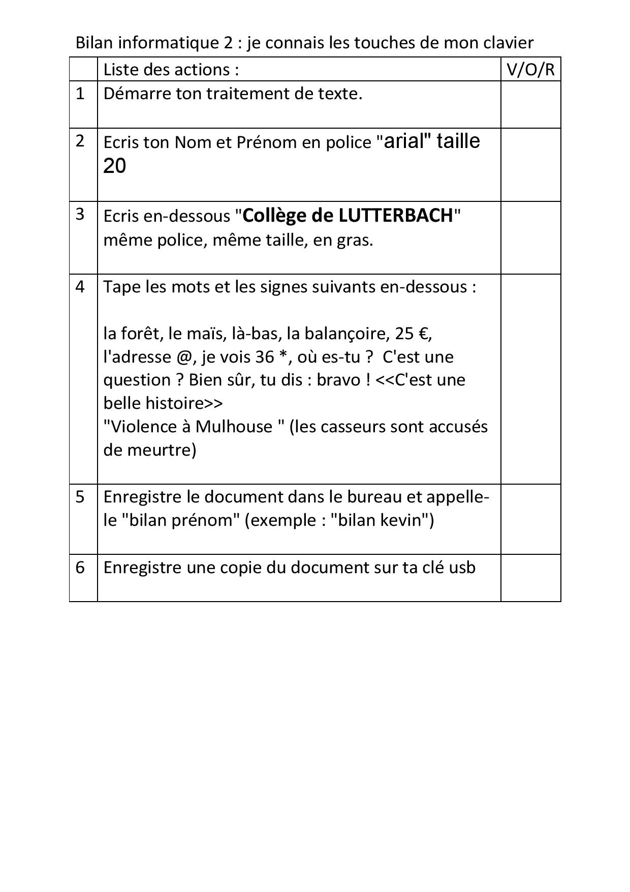 1b   petits exercices