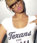 Beyonce : Texans for Obama photos