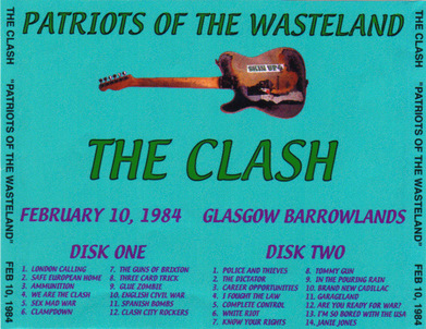 La Saga du Clash - épisode 36 - Out of Control Tour US Part 1 et UK