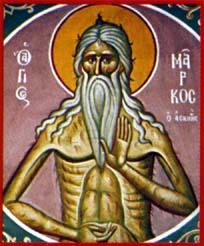 Saint Marc l'Ascète († 430)