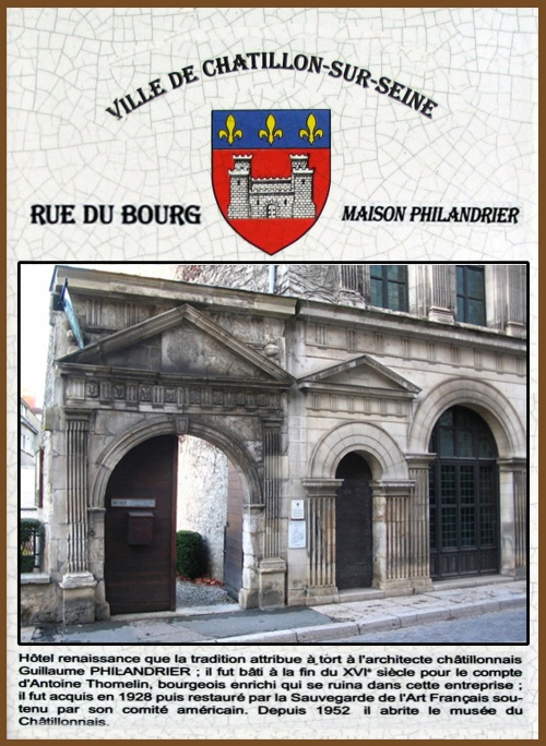 Monuments de Châtillon sur Seine