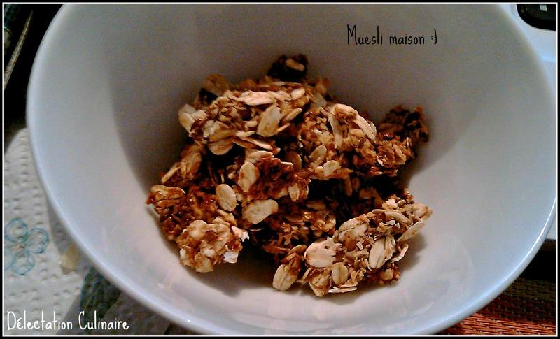 Granola coco ( sans matières grasses) facile !