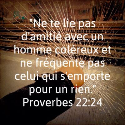 Proverbes 22 - Lecture et Prière