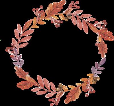 courones d'automne