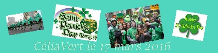 Jeudi 17.03 - C'est la St Patrick !