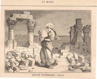 Sainte Euphrasie de Constantinople († 412)