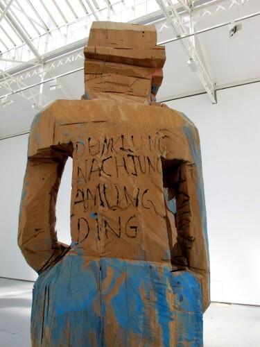 Baselitz sculpture Volk Ding Zero