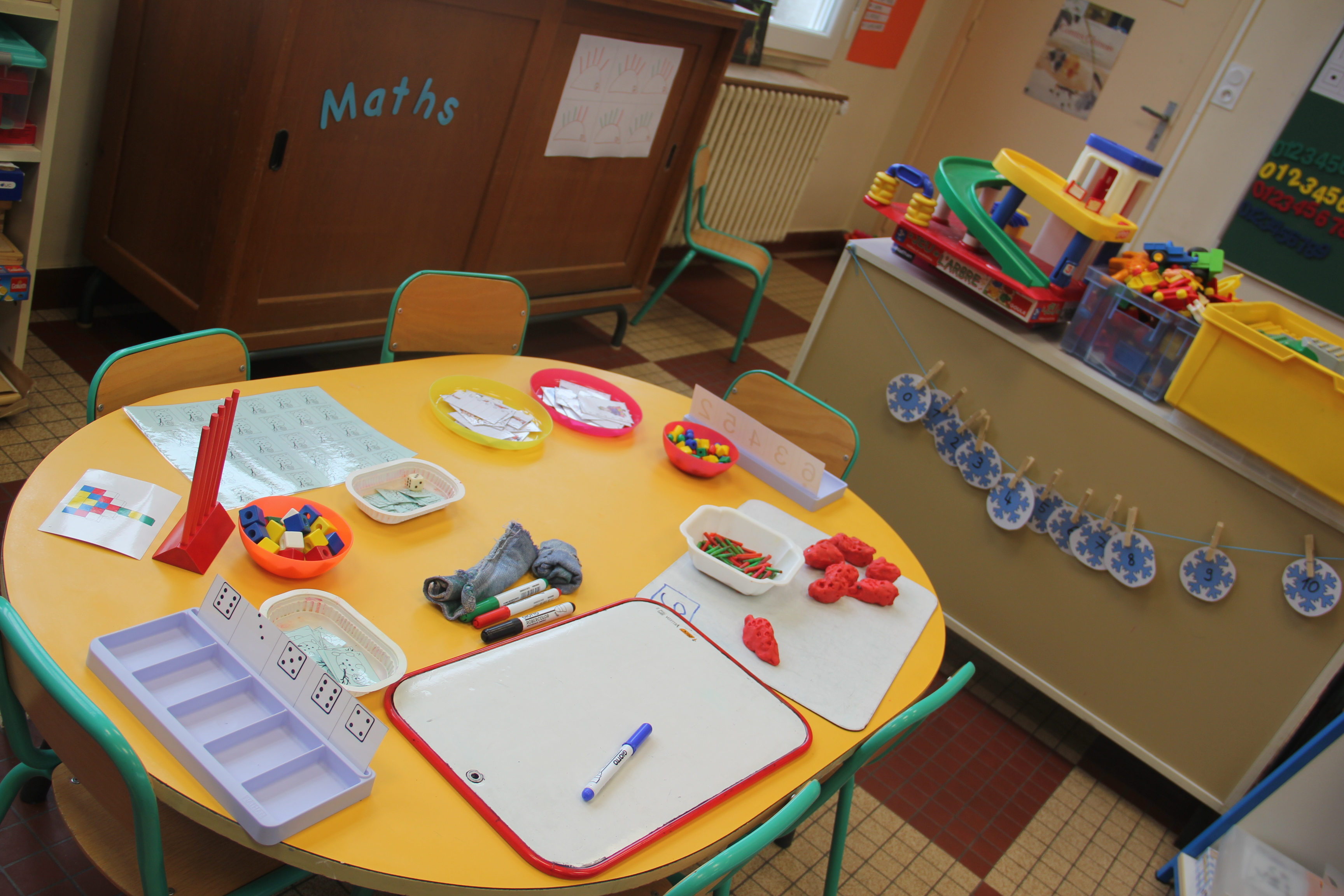 Mettre en place l 39 active learning 1 2 organisation spatiale - Table de jeux 5 en 1 ...