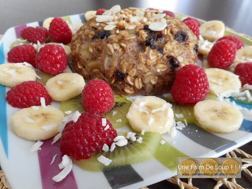 Bol Cake : petit déjeuner bourré d'energie