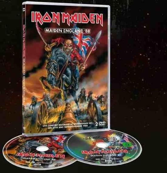 IRON MAIDEN_Maiden England \'88 DVD