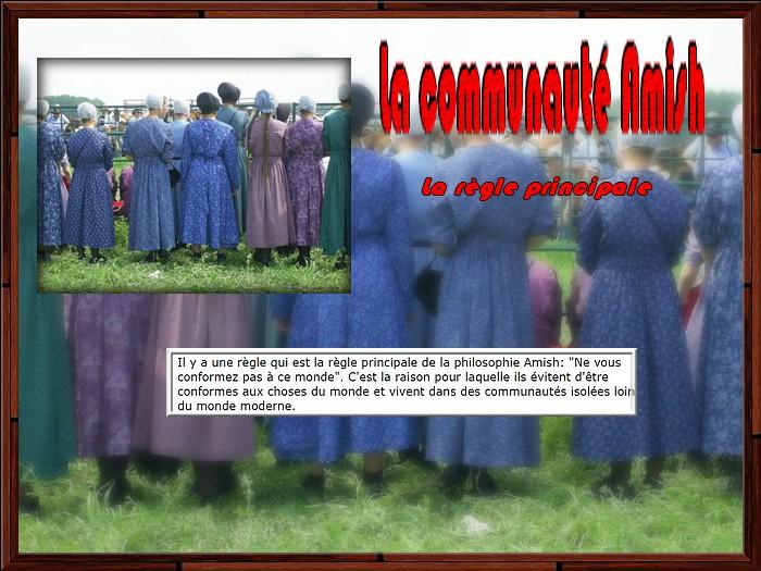 La communauté Amish partie 1/3