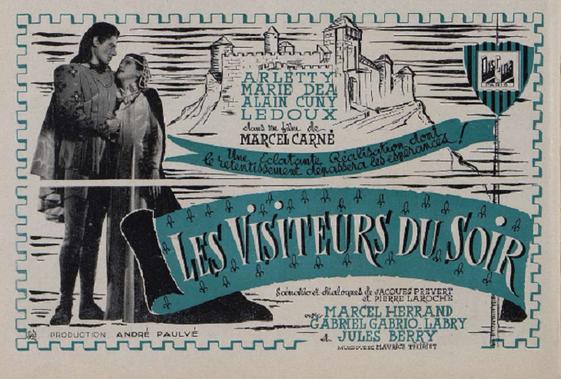 LES VISITEURS DU SOIR - 5 DECEMBRE 1942