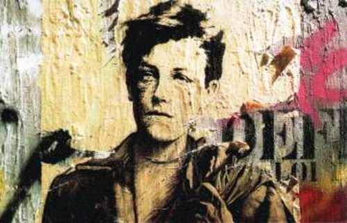 Arthur Rimbaud par le plasticien Ernest Pignon-Ernest