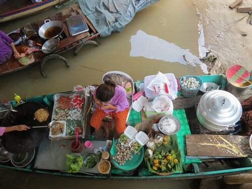 03 Août 2013 - Ayuthaya sur l'eau... trop beau !