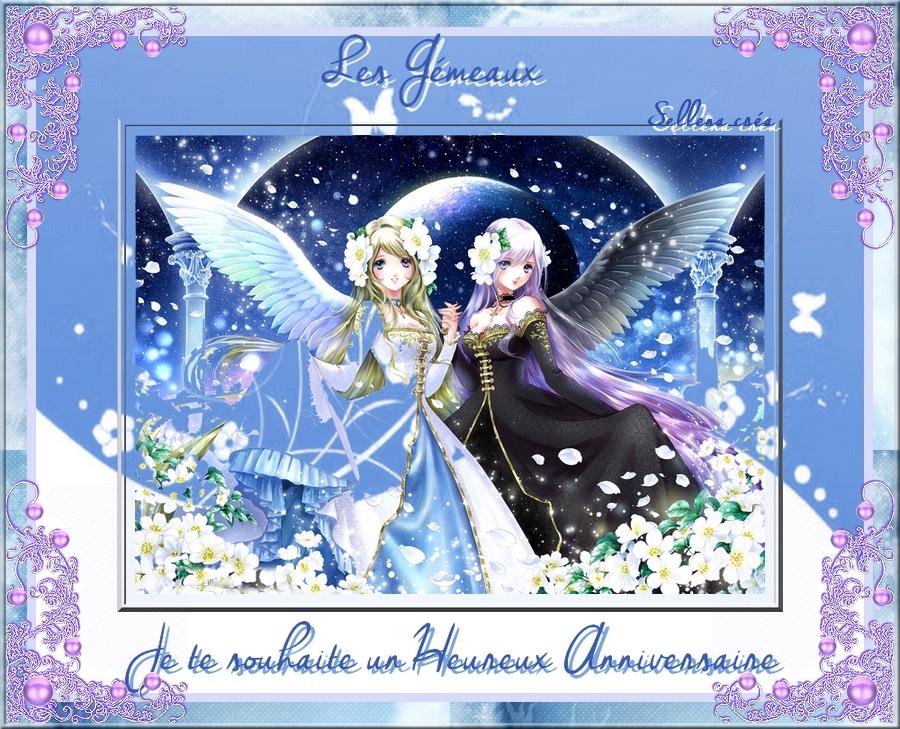 3 - Anniversaire des Gémeaux