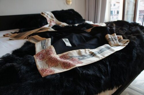 In LOVE with JG Switzer's luxury cashmere blankets!