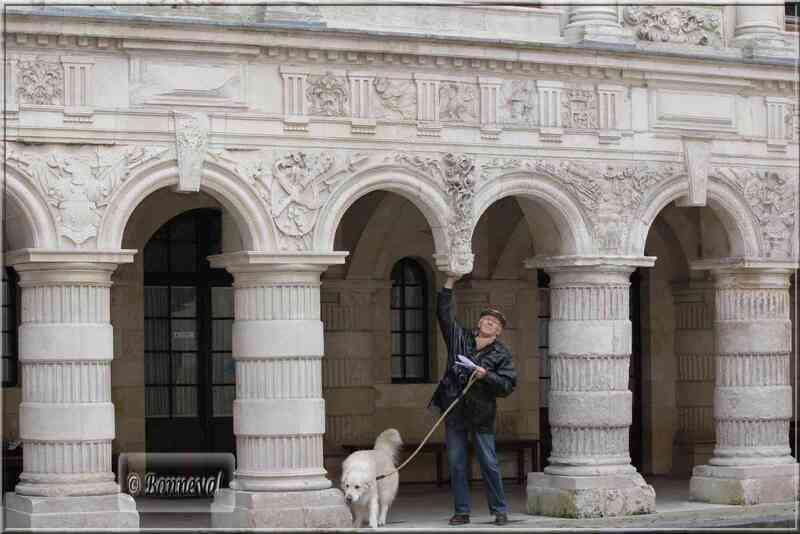 La Rochelle Hôtel de Ville la galerie aux arcades