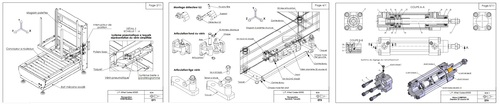 ERM / système taquets