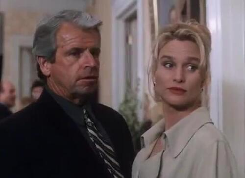 Nicolette Sheridan et William Devane.