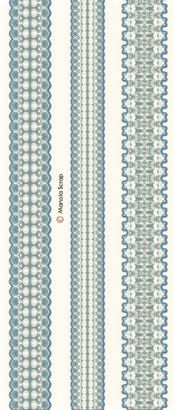 Bandes de dentelles page 8
