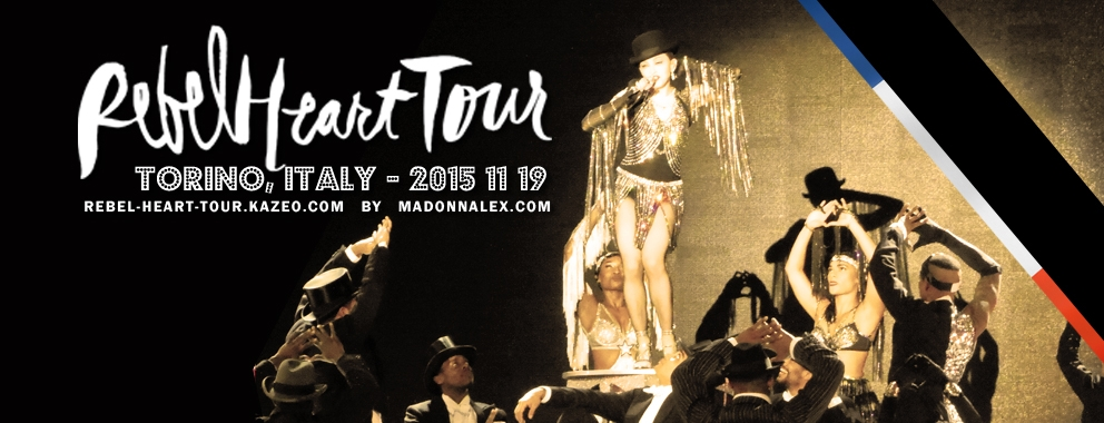 Madonna Rebel Heart Tour Torino 1