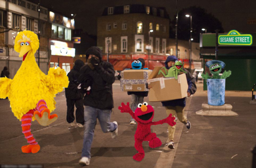 UK Riots photoshoplooter