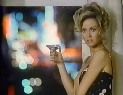 """Donna Mills dans """"The hunted lady''."""
