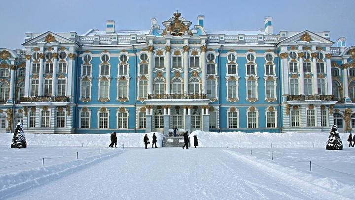 RUSSIE: le palais Catherine à Tsarskoe Selo (3)