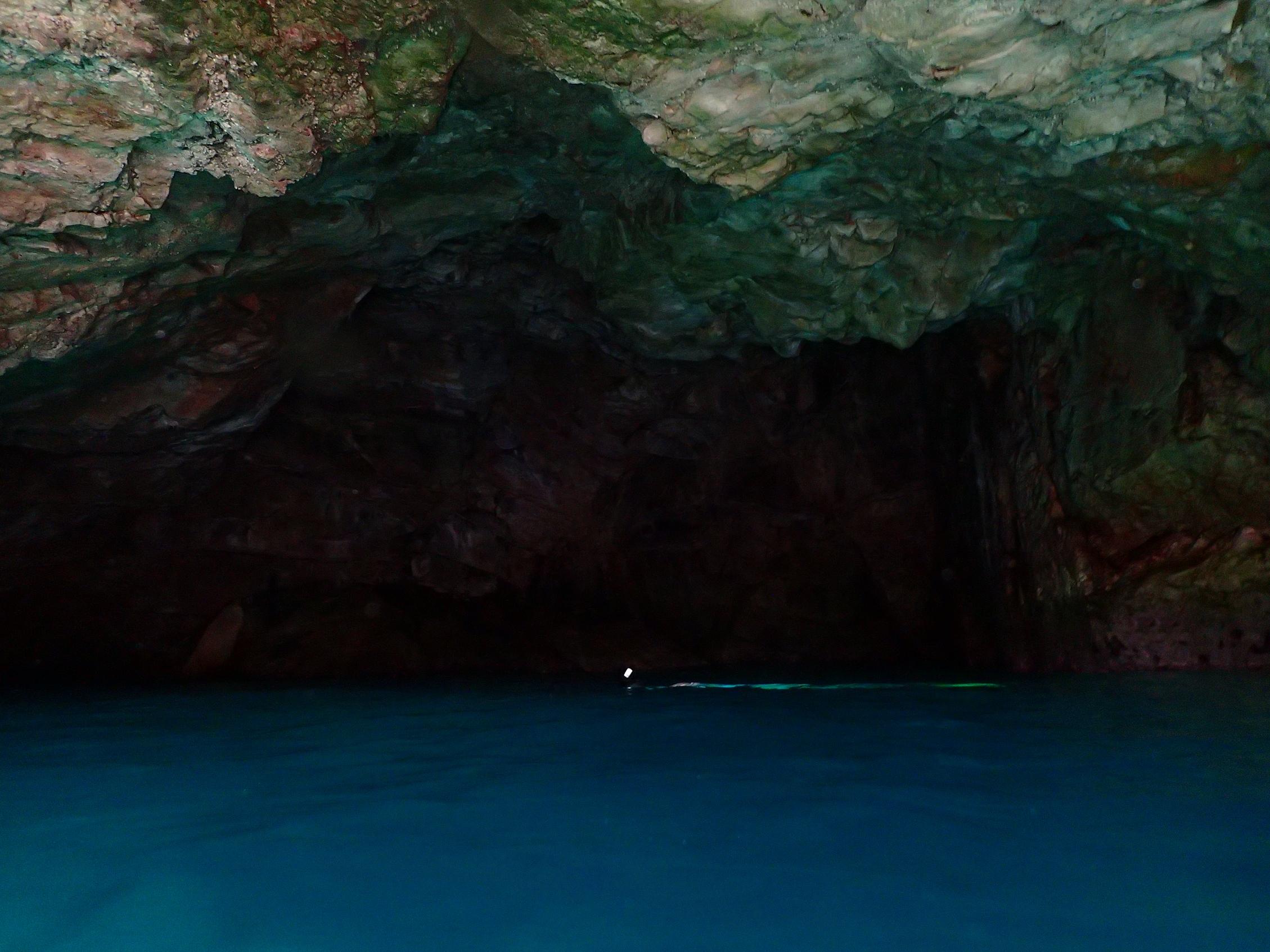 grotte bleue de Morgiou