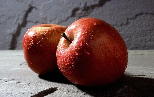 Les pommes en partage...