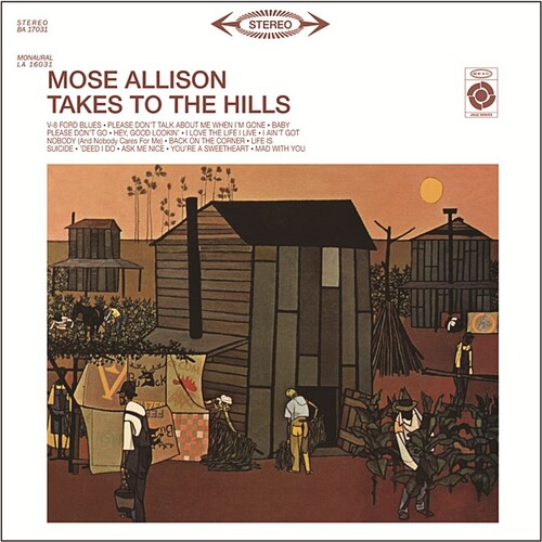 Mose Allison - Takes To The Hills (1962) [Jazz Post-Bop]