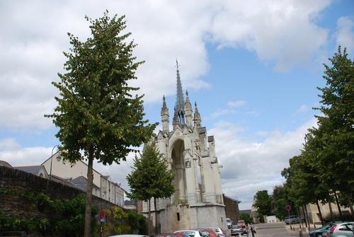 Anzers: aux alentours du çâteau et de la Loire (photos)